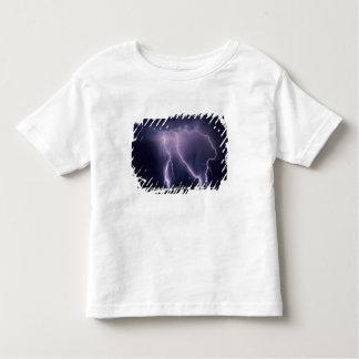 Lightning over Salt Lake Valley, Utah. Toddler T-shirt