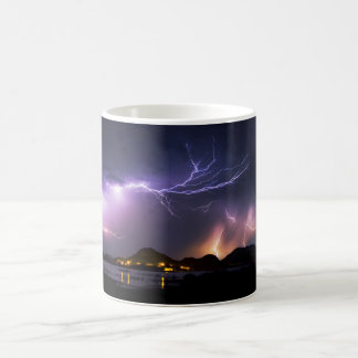 Lightning Panorama Magic Mug