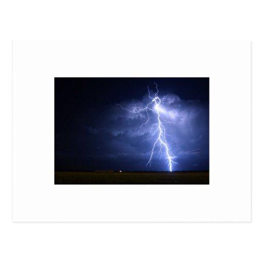 Lightning Post Card