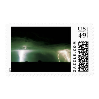 Lightning. Postage