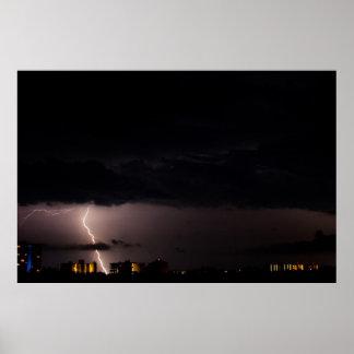 Lightning Splits Condos Poster
