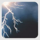 Lightning Square Sticker