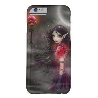 Lightning Stone Fantasy Dragon and Fairy Art Barely There iPhone 6 Case