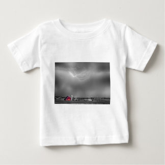Lightning Storm And The Big Red Barn BWSC Tee Shirt