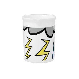 Lightning Storm Beverage Pitcher