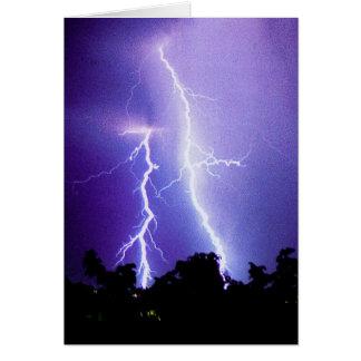 Lightning Storm Card