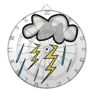 Lightning Storm Dartboard