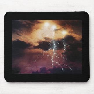 Lightning Storm Mouse Pads