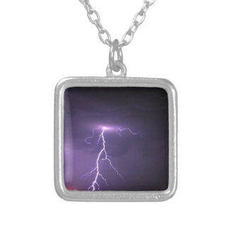 Lightning storm custom necklace