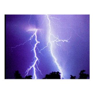 Lightning Storm Post Card