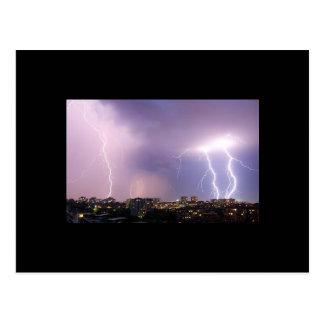 Lightning Storm Postcard