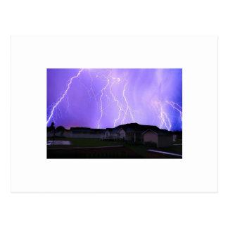 Lightning Storm Post Cards