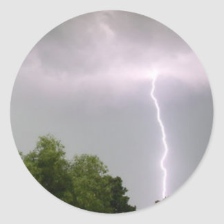 Lightning Storm Sticker