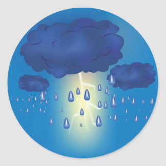 Lightning Storm Stickers