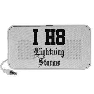 lightning storms laptop speakers