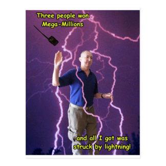 Lightning Strike 2 Postcard
