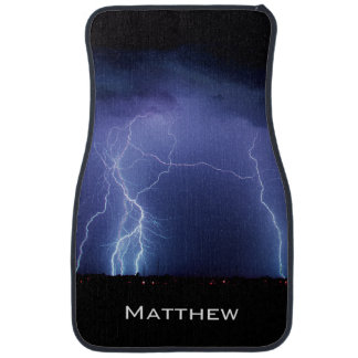 Lightning Strike 3 Car Mat