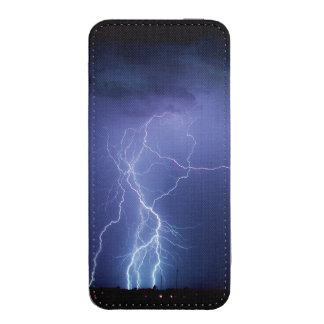 Lightning Strike 3 iPhone 5 Pouch
