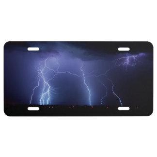 Lightning Strike 3 License Plate