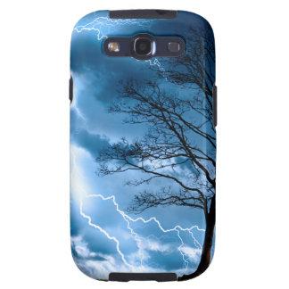 Lightning Strike Samsung Galaxy SIII Cases
