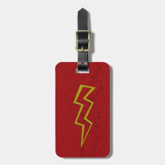 Lightning Strike Luggage Tags