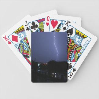 Lightning Strike Playing Cards