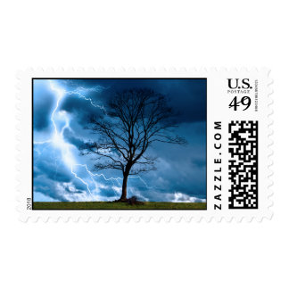 Lightning Strike Postage