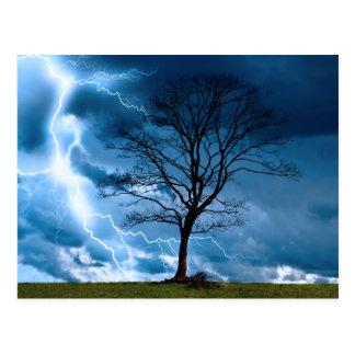 Lightning Strike Post Cards