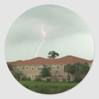 Lightning Strike Sticker