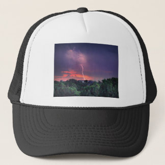 Lightning Strike Trucker Hat