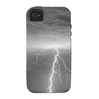 Lightning Strikes Following the Rain BWSC iPhone 4/4S Cover