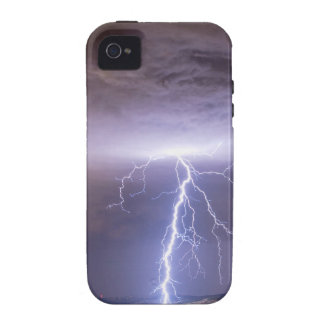 Lightning Strikes Following the Rain iPhone 4 Cover