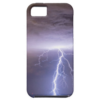 Lightning Strikes Following the Rain iPhone 5 Cover