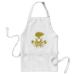 lightning-symbol adult apron