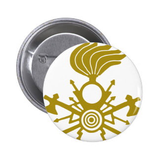lightning-symbol pinback button