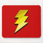 Lightning Thunder Bolt Mousepads