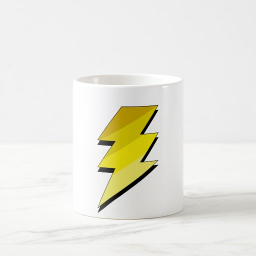 Lightning Thunder Bolt Mugs