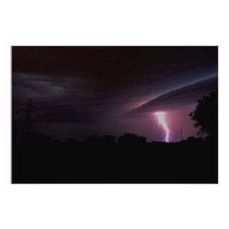 Lightning, Tornado, PHOTO ENLARGEMENT