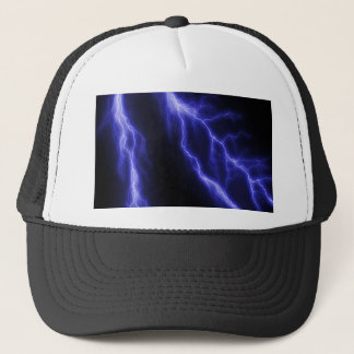 lightning trucker hat