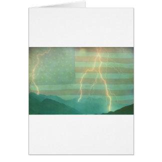 Lightning Walk the Line Card