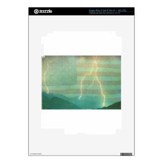 Lightning Walk the Line iPad 3 Decal