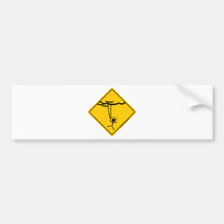 Lightning Weather Warning Merchandise and Clothing Bumper Sticker