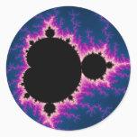 Lightningbrot - Fractal Classic Round Sticker
