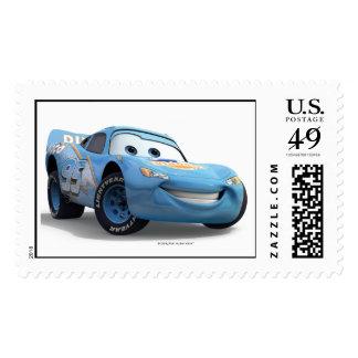 LightningMcQueen Disney de los coches Timbre Postal