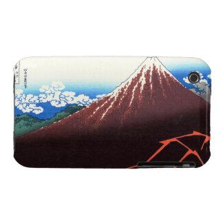 Lightnings below the summit Katsushika Hokusai iPhone 3 Covers