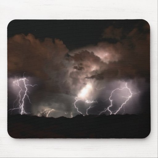 Lightnings epic power. mouse pad