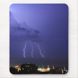 Lightnings in Genova Mouse Pad