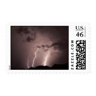 lightnings triple strike postage stamp