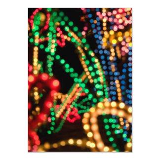 """Lights Aglow #1 - 4.5 x 6.25"""" Card"""