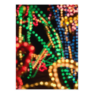 "Lights Aglow #1 - 5.5 x 7.5"" Card"